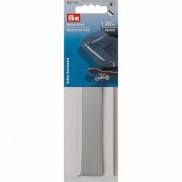 Reflective Tape Silver, Self Adhesive, 50mm x 40cm | Prym