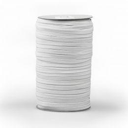 6mm Flat Elastic Tape | White | Prym