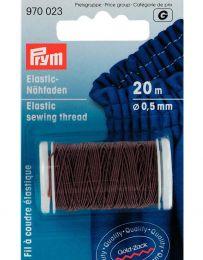 Elastic Sewing Thread   20m   Brown