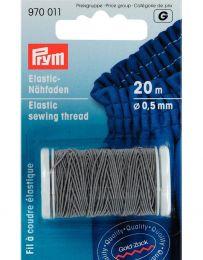 Elastic Sewing Thread   20m   Light Grey