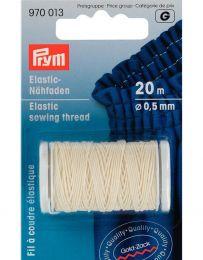 Elastic Sewing Thread   20m   Natural White