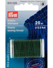 Elastic Sewing Thread | 20m | Moss Green