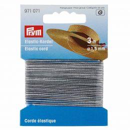 Elastic-Cord, 1.5mm x 3m - Silver Metallic | Prym