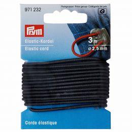 Elastic-Cord Strong, 2.5mm x 3m - Grey   Prym