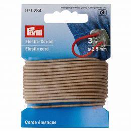 Elastic-Cord Strong, 2.5mm x 3m - Beige   Prym
