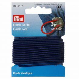 Elastic-Cord Strong, 2.5mm x 3m - Navy | Prym