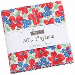 Moda Charm Pack | 30s Playtime Fabrics