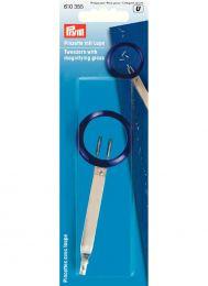 Tweezers With Magnifying Glass | Prym