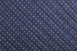Quilted Denim | Mini Floral Dark Blue