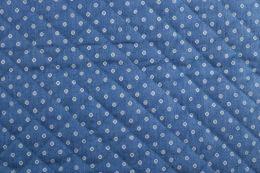 Quilted Denim | Mini Floral Light Blue