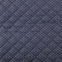 Quilted Denim | Spot Dark Blue