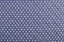 Quilted Denim | Star Dark Blue