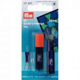 Quilters Premium Needles, Magnetic Holder, Fine 23mm   Prym