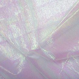 Rainbow Organza Fabric | Pearl