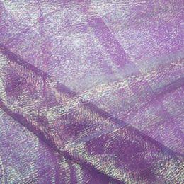 Rainbow Organza Fabric | Purple