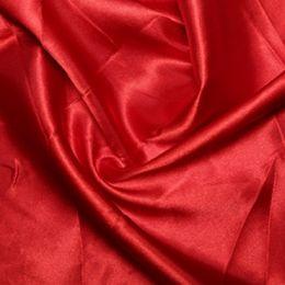 Satin Lining Fabric | Red