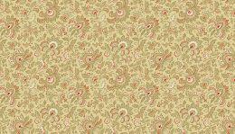 Riviera Rose Fabric | Small Jacobean Tan