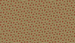 Riviera Rose Fabric | Overlapping Ribbons Red