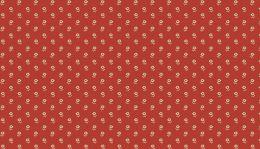 Riviera Rose Fabric | Daisies Red