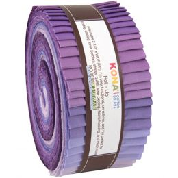 Kona Cotton Fabric Roll Up | Lavender Fields