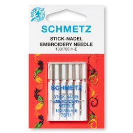 Schmetz Embroidery Machine Needles | Sizes 75 - 90