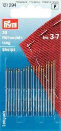 Sharps Gold Eye, Asst No. 3-7 | Prym