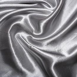 Satin Lining Fabric   Silver