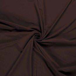 Soft Shell Fleece Fabric Plain   Dark Brown