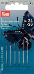 Tapestry Needles Gold Eye, Asst No. 24-26 | Prym