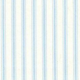 Ticking Stripe Fabric | Blue