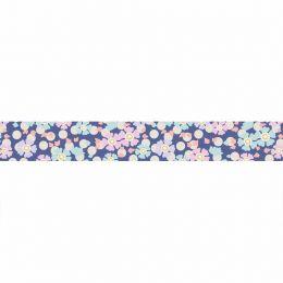 Tilda Plum Garden Ribbon | Windflower Blue