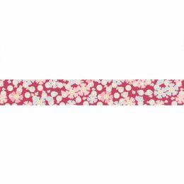 Tilda Plum Garden Ribbon | Windflower Red