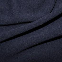 Heavy Scuba Twill Fabric   Navy