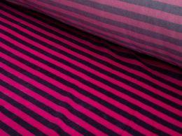 Velour Jersey Stripe | Pink Stripe
