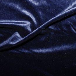 Velour Velvet Fabric | Navy