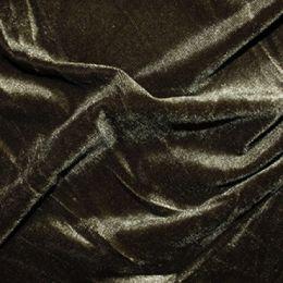 Velour Velvet Fabric | Olive