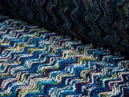 Wool Mix Design | Marine Chevron
