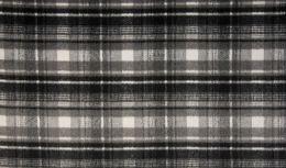 Wool Check | Ecru & Grey