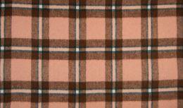 Wool Check Carmen | Old Pink