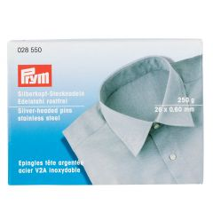 Silver Headed Pins for Shirts & Blouses | Prym