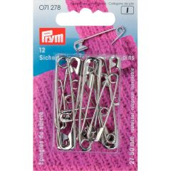 Safety Pins Gold 27/38/50mm asst, 30pcs | Prym