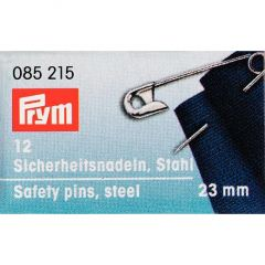 Safety Pins Silver 23mm, 12pcs | Prym