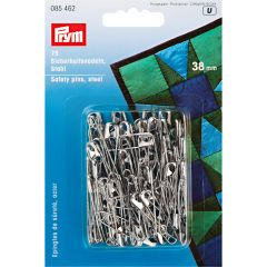 Safety Pins Silver 38mm, 75pcs | Prym