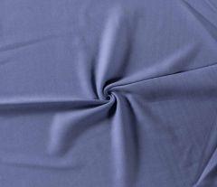 Plain Organic Fleece | Indigo