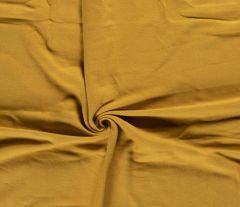 Plain Organic Fleece | Ochre