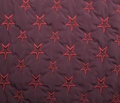 Quilted Fleece Star | Red