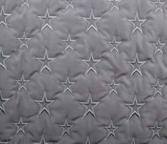 Quilted Fleece Star | Silver