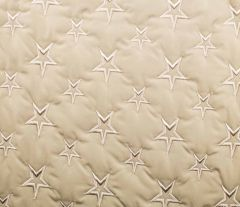 Quilted Fleece Star | Ivory