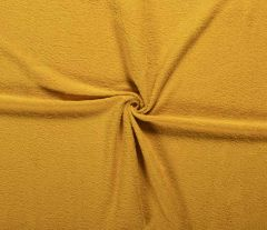 Terry Towelling Fabric | Ochre