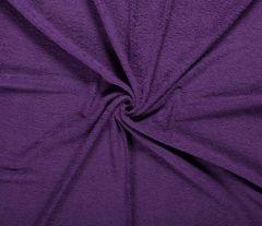 Terry Towelling Fabric | Light Purple